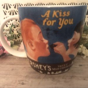 Hershey's Kiss Vintage Ad Chocolate Oversized Mug